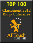top 100 blog culinaires