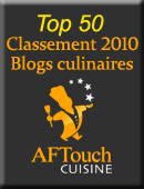 Top 50 des blogs culianires