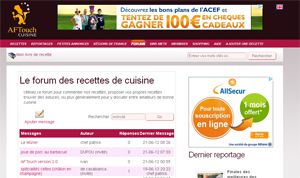 AFTouch-cuisine 2.0