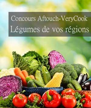 Résultat du concours  légumes de vos régions