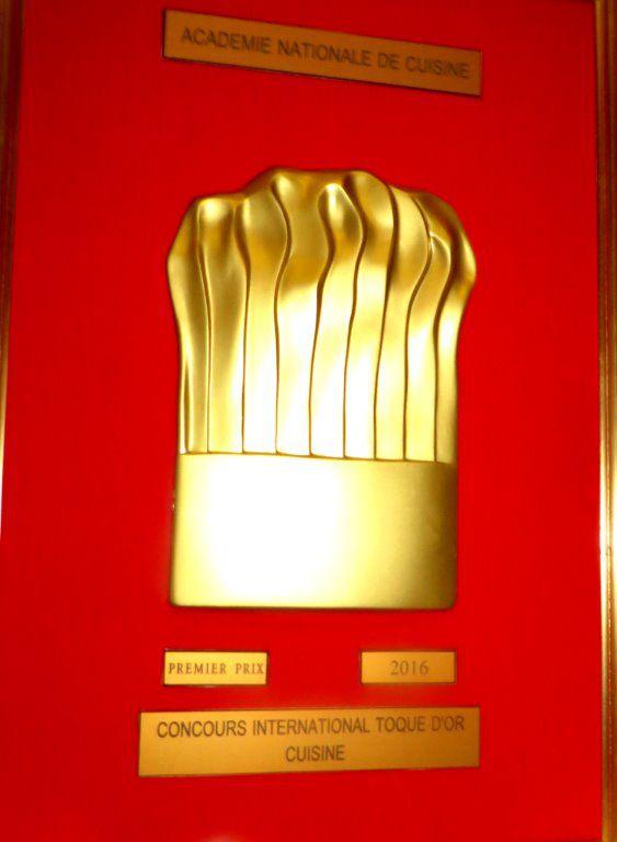 Remise des Toques d'Or 2016 Asfaux.Patrick@aftouch-cuisine