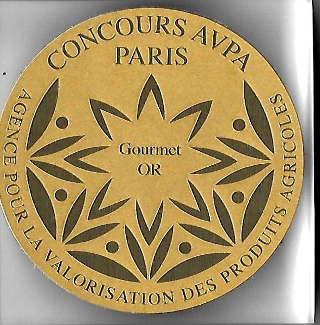 Patrick Asfaux Médaille de Gourmet d'Or 2018