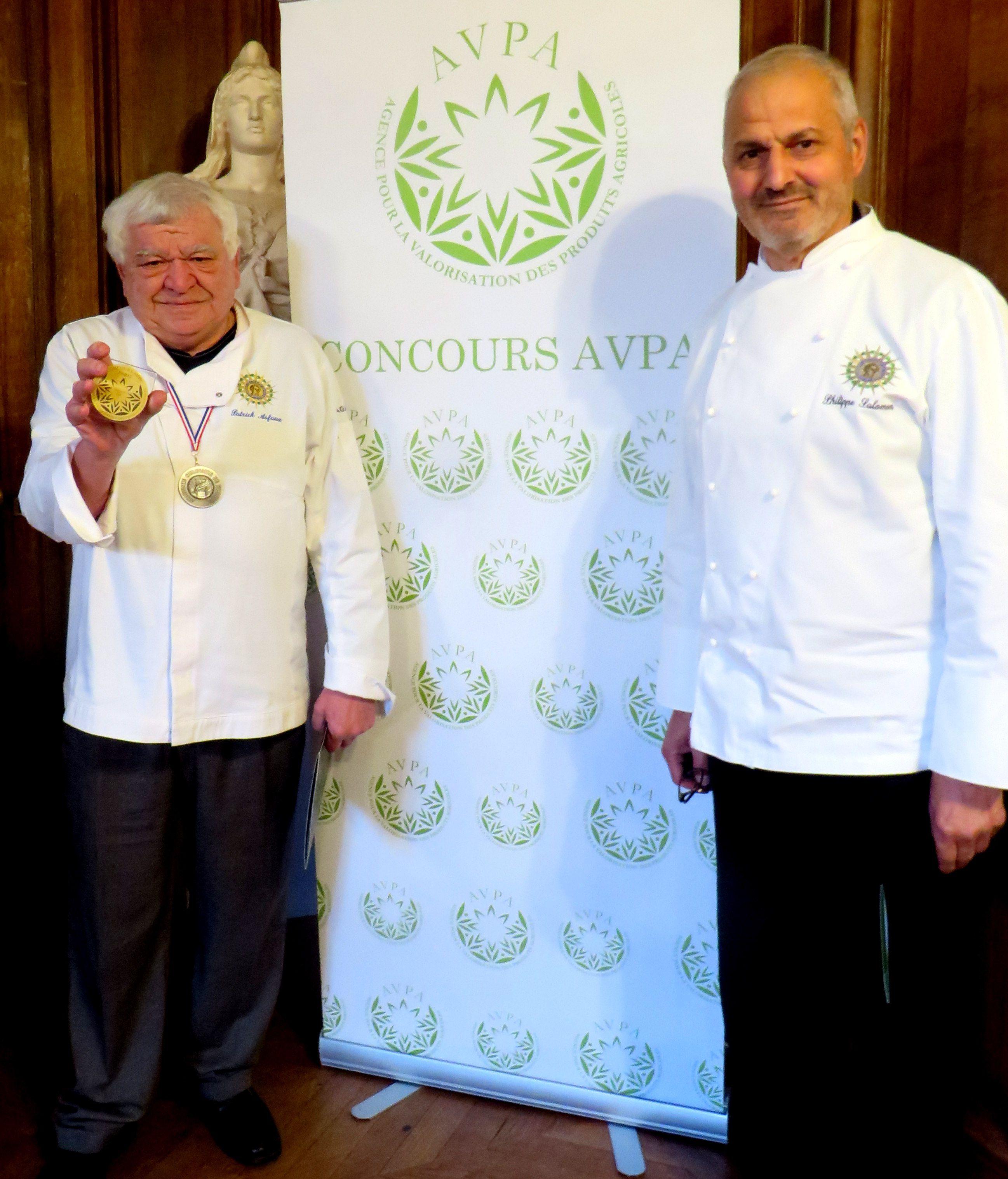 Patrick Asfaux Médaille de Gourmet d'Or 2018 Patrick.asfaux@aftouch.fr 2