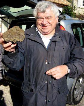 Premier marché aux truffes de l'année.