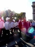 Les Cuisiniers de l'Académie Culinaire de France ravivent la flamme