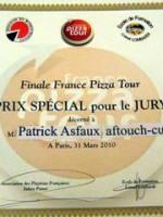 La France meilleure équipe du monde de Pizza