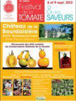 Quatorzième édition du Festival de la Tomate au château de la Bourdaisière.