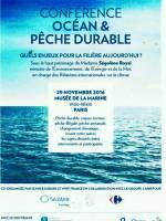 Conférence océan et pêche durable