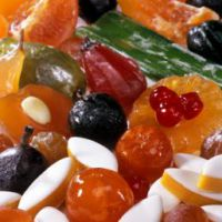 apt candied fruits