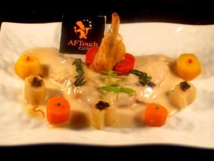 Ailerons de poulet fermier fourrés au foie gras