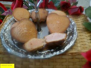 Biscuit à  l'eau de rose