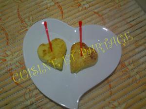 Bouchées de polenta au beaufort