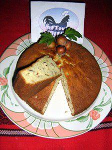 Hazelnut Yoghurt Cake