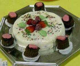 Bavarois aux fraises et framboises