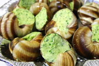 Recipe garlic snails
