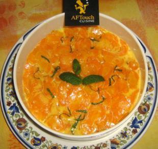 Crèmeuse de carottes nouvelles