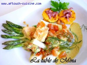 Curry de poisson à la thaïlandaise