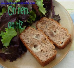 Cake chataigne roquefort et figues