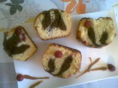 Cake à la framboise et au chocolat   caramel au beurre salé