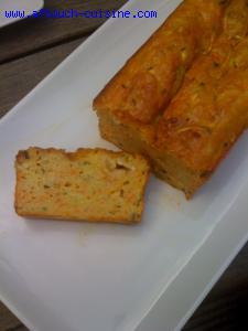 Cake aux courgettes et carottes