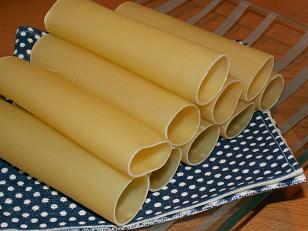 Cannellonis de poireaux