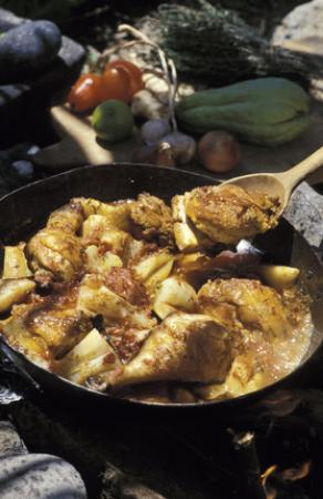 Cari de poulet de la R�union