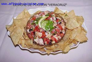 Ceviche de poisson Veracruz