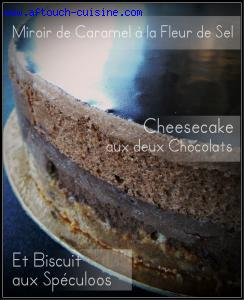 Cheesecake aux 2 chocolats