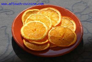 Chips d'orange