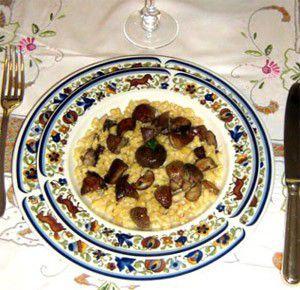 Coquillade aux cèpes et foie gras
