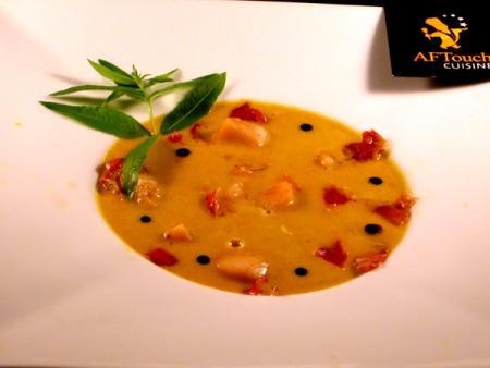 soupe de poisson à la crème