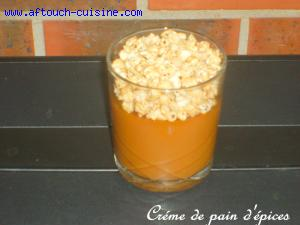 Cr�me de pain d'�pices