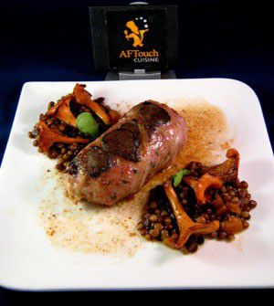 Crépinettes de canard et truffes