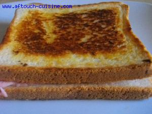 Croque monsieur minute