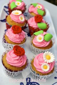 Cupcakes � la vanille
