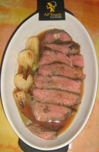 Pan Fried Sirloin Steak