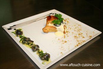 Escargots de Bourgogne en Nage persill�e