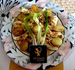 Filets de sole pommes nouvelles et aillets