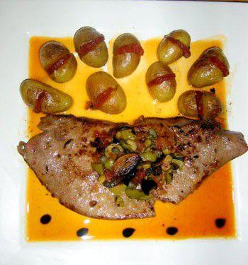 Foie de veau à la provençale