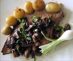 Pan Fried Calf's Liver