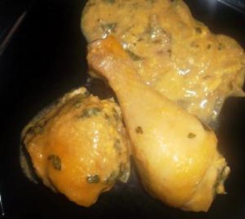 Fricassée de poulet à la portugaise