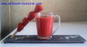 Gaspacho aux fraises
