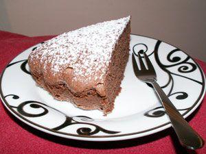 gateau moelleux marbré vanille chocolat