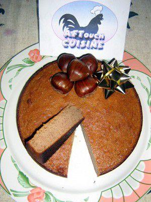 Gâteau de châtaignes