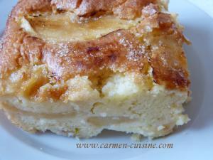 Gâteau aux pommes yaourt et Limoncello