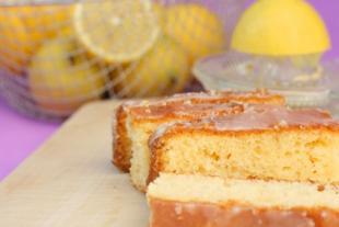Gâteau de pommes de terre au citron