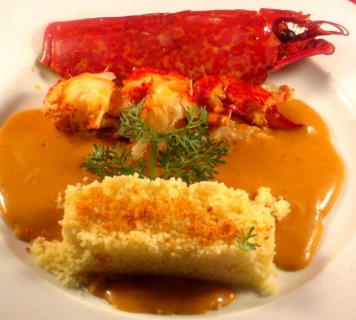 Lobster à l'américaine