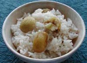 Kuri Gohan (riz aux châtaignes)