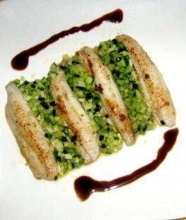 Les filets de limande-sole