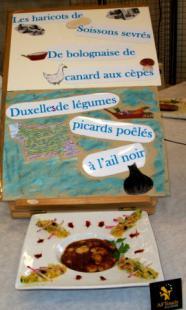 Soissons sevrés bolognaise de canard